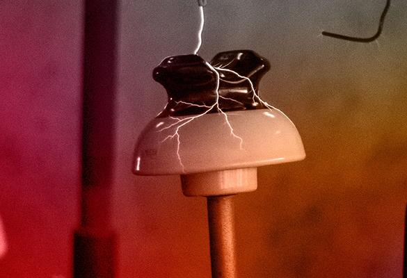 Fábrica de isoladores elétricos de porcelana