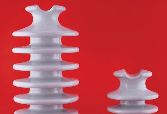 Isolador pilar de porcelana